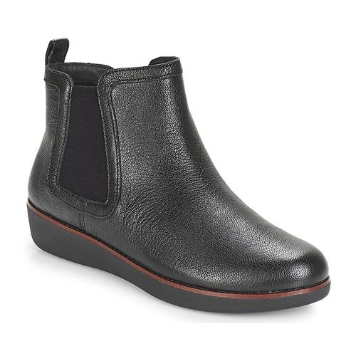 FitFlop CHAI Schwarz  Schuhe Boots Damen 159
