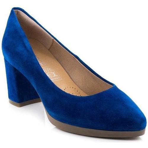 Desiree 2261 Blau - Schuhe Pumps Damen 46,25