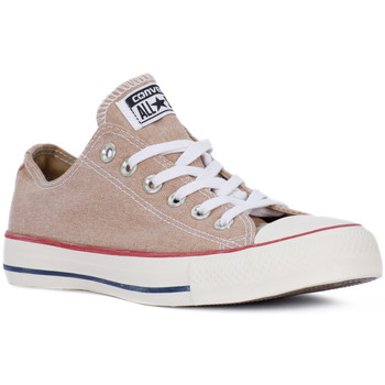 Schuhe Sneaker Low Converse ALL STAR OX STONE WASHED Giallo