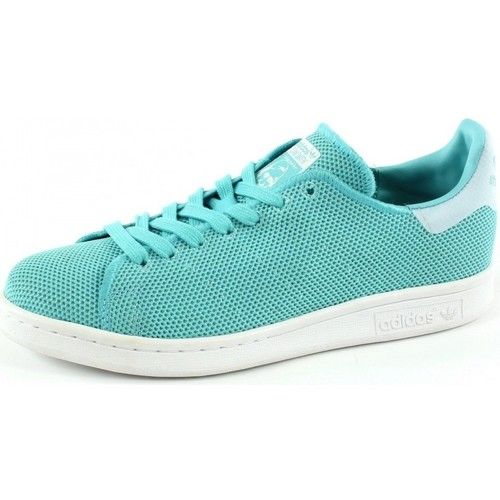 Schuhe Damen Sneaker Low adidas Originals Stan Smith Women Bleu