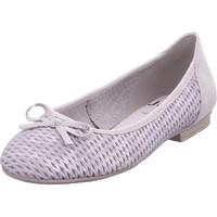 Schuhe Damen Ballerinas Softline Da.-Ballerina GREY/SILVER 212