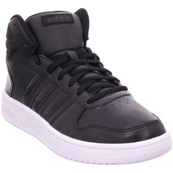 Schuhe Sneaker High adidas Originals HOOPS 2.0 MID W CBLACK/CBLACK/CARBON