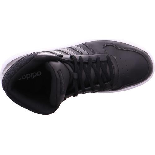 adidas Originals HOOPS 2.0 MID W CBLACK/CBLACK/CARBON - Schuhe Sneaker High 51,75