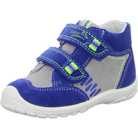 Schuhe Kinder Sneaker High Superfit Softtippo blau kombi.