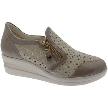 Schuhe Damen Slip on Melluso MWR20166mi blu