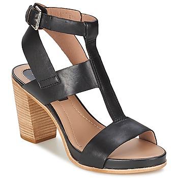 Schuhe Damen Sandalen / Sandaletten Marc O'Polo GOSPEI Schwarz
