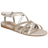 Schuhe Damen Sandalen / Sandaletten Marc O'Polo PRAVA Beige / Silbern