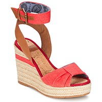 Schuhe Damen Sandalen / Sandaletten Napapijri BELLE Rot