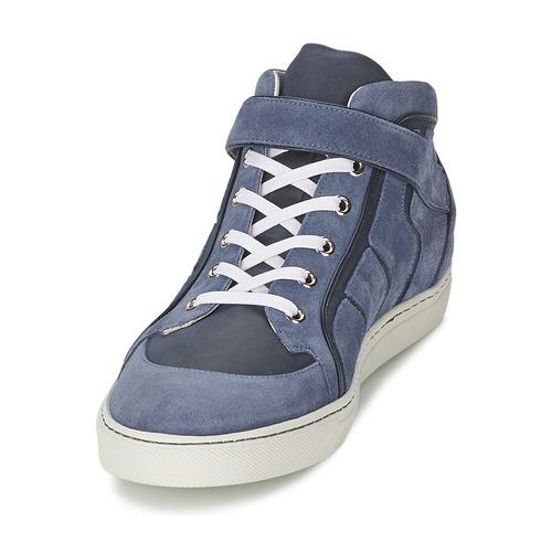 Vivienne Westwood HIGH TRAINER Blau  Schuhe Sneaker High Herren 268