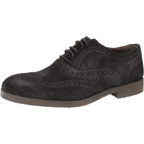 Schuhe Herren Derby-Schuhe Today By Calpierre TODAY by elegante blau wildleder AD538 blau