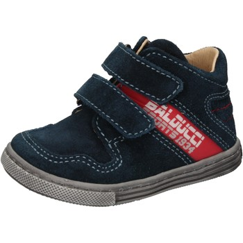 Schuhe Jungen Sneaker High Balducci sneakers blau wildleder AD585 blau