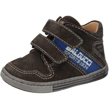 Schuhe Jungen Sneaker High Balducci sneakers grau wildleder AD586 grau