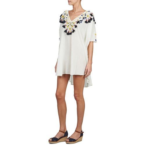 Antik Batik DOVE Weiss - Kostenloser Versand |  - Kleidung Tuniken Damen 10395 R7JYI