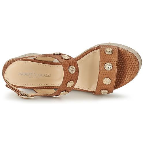 Alberto Gozzi IRIS Braun  Schuhe Sandalen / Sandaletten Damen 178