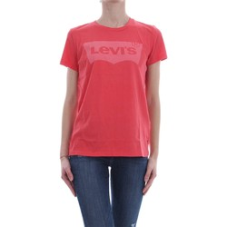 Kleidung Damen T-Shirts Levi's 17369 THE PERFECT TEE T-SHIRT Damen RED RED