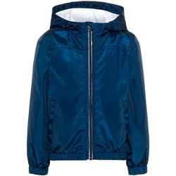 Kleidung Jungen Jacken Name It Kids NMMMIX SOLID JACKET CAMP Blue