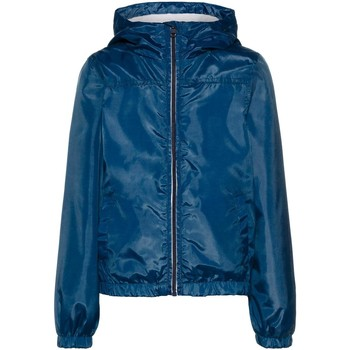 Kleidung Jungen Jacken Name It Kids NKMMIX SOLID JACKET CAMP Blue