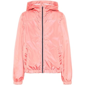 Kleidung Mädchen Jacken Name It Kids NKFMIX SOLID JACKET CAMP Rosa