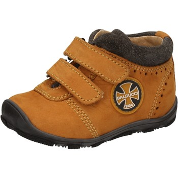 Schuhe Jungen Sneaker High Balducci sneakers gelb leder wildleder AD589 gelb
