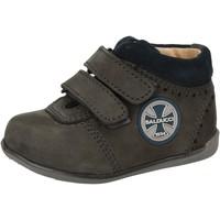 Schuhe Jungen Sneaker High Balducci sneakers blau leder wildleder AD590 blau
