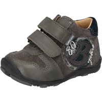 Schuhe Jungen Sneaker Low Balducci sneakers grau wildleder leder AD594 grau