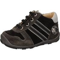 Schuhe Jungen Sneaker High Balducci sneakers schwarz wildleder AD596 schwarz