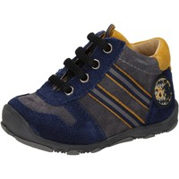 Schuhe Jungen Sneaker High Balducci sneakers blau wildleder grau AD597 blau