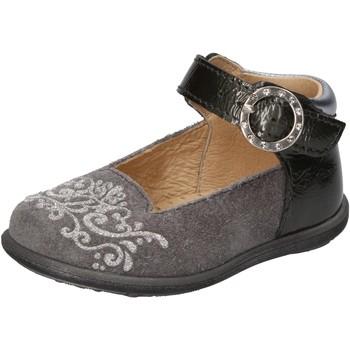 Schuhe Mädchen Ballerinas Balducci ballerinas grau wildleder lack AD599 grau