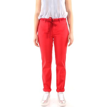 Kleidung Damen 5-Pocket-Hosen Weekend Maxmara AUDREY Hosen Frau RED RED