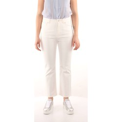 Kleidung Damen 5-Pocket-Hosen Weekend Maxmara ROMANIA Hosen Frau White White