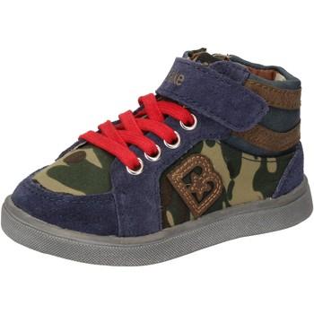 Schuhe Jungen Sneaker High Blaike schuhe bambino  sneakers blau wildleder grün leder AD769 mehrfarben