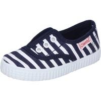 Schuhe Jungen Sneaker Low Cienta sneakers blau textil duftende AD823 blau