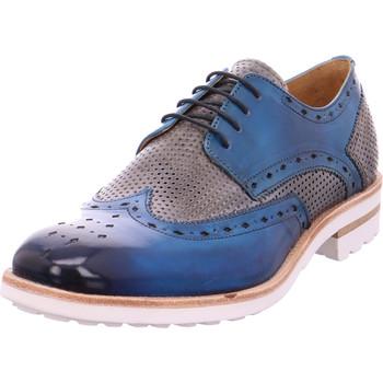 Schuhe Herren Derby-Schuhe Melvin & Hamilton - Eddy5 Crust Bluette/Morning Grey