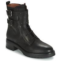 Schuhe Damen Boots Ikks REGNAUT Schwarz