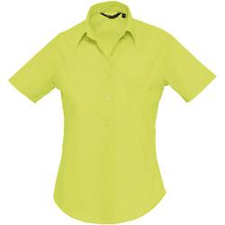 Kleidung Damen Hemden Sols ESCAPE POPELIN WOMEN Verde