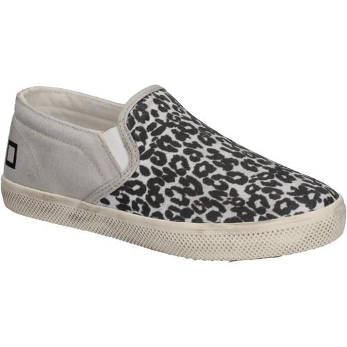 Schuhe Mädchen Slip on Date slip on weiß textil schwarz AD838 mehrfarben