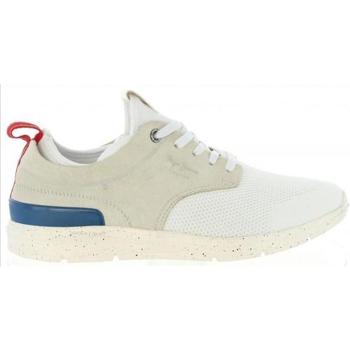 Schuhe Herren Derby-Schuhe & Richelieu Pepe jeans PMS30410 JAYDEN Blanco