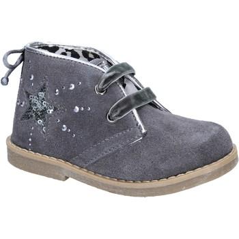 Schuhe Mädchen Low Boots Didiblu stiefeletten grau wildleder AD979 grau