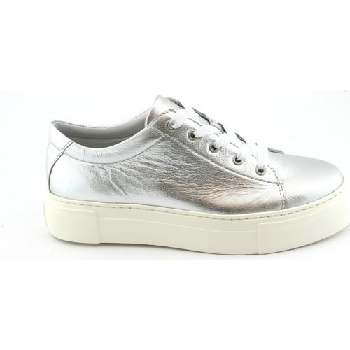 Schuhe Damen Sneaker Low Grunland GRU-E18-SC3880-AR Argento