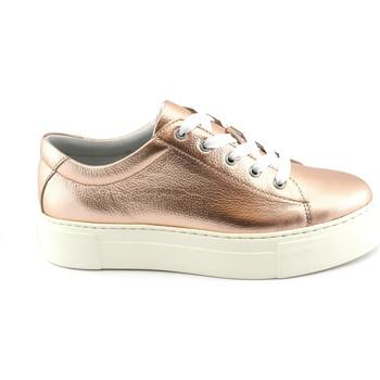 Schuhe Damen Sneaker Low Grunland GRÜNLAND SC3880 Pulver rosa Turnschuhe Plattform Tanga Frau Rosa