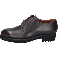 Schuhe Herren Derby-Schuhe Alexander elegante braun (dunkelbraun) leder BY450 braun