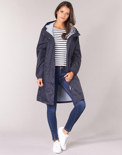 Kleidung Damen Parkas Aigle FIRSTRAIN Marine