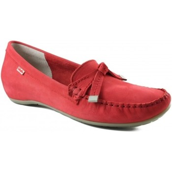 Schuhe Damen Slipper CallagHan sehr komfortabel Mokassin Frau ROT