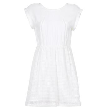 Kleidung Damen Kurze Kleider Moony Mood INDI Weiss