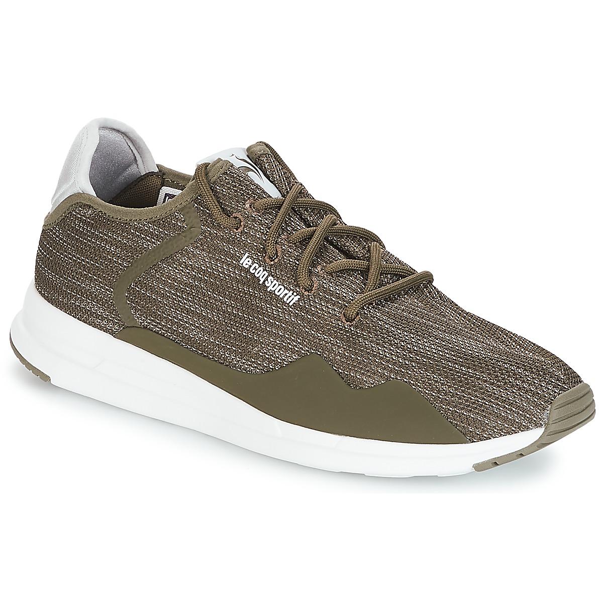 Le Coq Sportif SOLAS PREMIUM Olive / Kiesel - Kostenloser Versand bei Spartoode ! - Schuhe Sneaker Low Herren 89,99 €