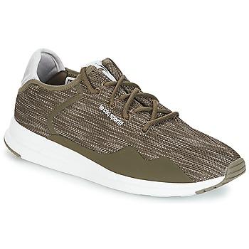 Schuhe Herren Sneaker Low Le Coq Sportif SOLAS PREMIUM Olive / Kiesel