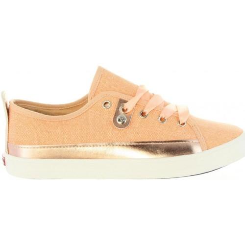 Schuhe Damen Sneaker Low Lois 61134 R1 Beige