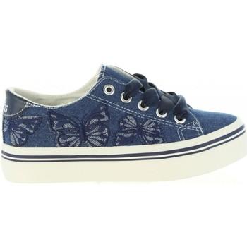 Schuhe Mädchen Sneaker Low Lois Jeans 60069 Azul