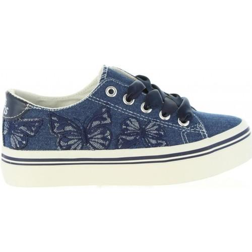 Schuhe Mädchen Sneaker Low Lois 60069 Azul
