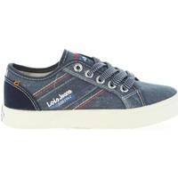 Schuhe Kinder Sneaker Low Lois Jeans 60050 Azul